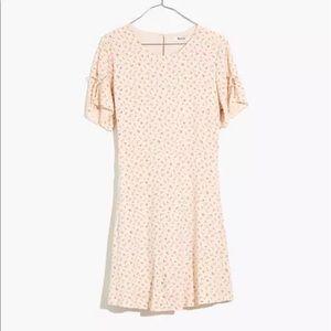 Madewell Tie-Sleeve Retro Dress Dutch Dandelions
